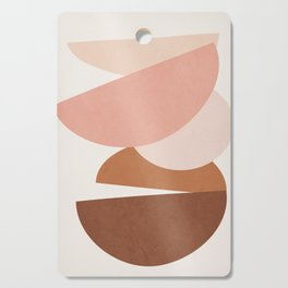 Abstract Stack II Cutting Board