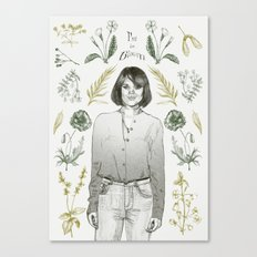 I'm in bloom Canvas Print