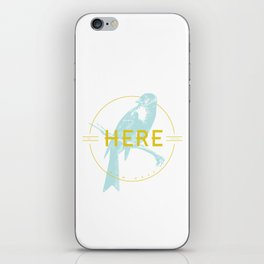 BE HERE NOW iPhone Skin