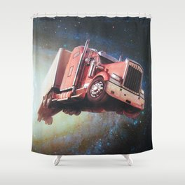 Lone Starr's New Rig Shower Curtain
