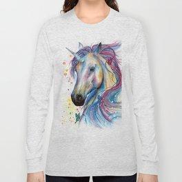 Whimsical Unicorn Long Sleeve T-shirt