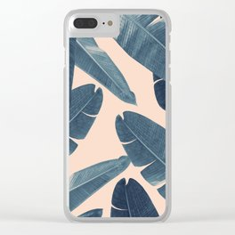 Banana Leaves - Cali Vibes #3 #tropical #decor #art #society6 Clear iPhone Case