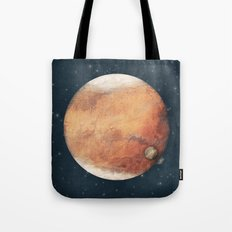 The Red Planet Tote Bag