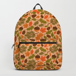 Wandering in the Autumn Backpack
