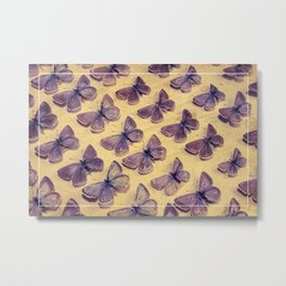 The Butterfly Collection 3 Metal Print