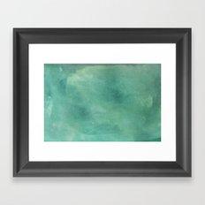 Turquoise Stone Texture Framed Art Print