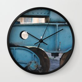 industrial pastels 3 Wall Clock