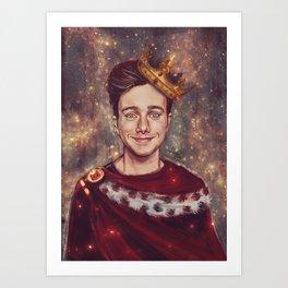 His Royal Highness Art Print