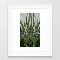 plants Framed Art Prints featuring Plants by Gun Alfsdotter
