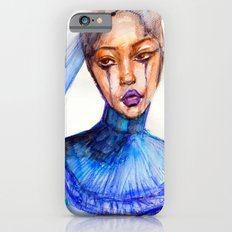 Lady Crying Slim Case iPhone 6s
