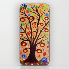 Abstract tree 4 iPhone & iPod Skin