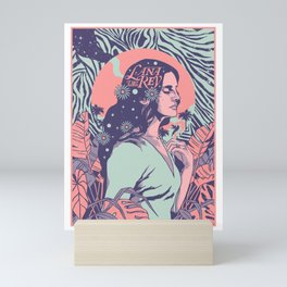 Lana Lust For Life Mini Art Print