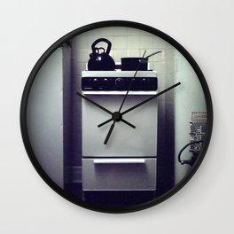 Stove. Wall Clock