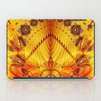 pyramid iPad Cases featuring Pyramid by Christine baessler