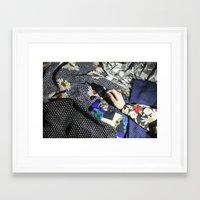 charmaine Framed Art Prints featuring Smoke by Charmaine de Heij - Travel Photography