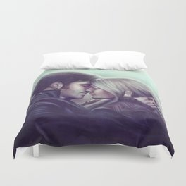 My Walls Were Up Duvet Cover