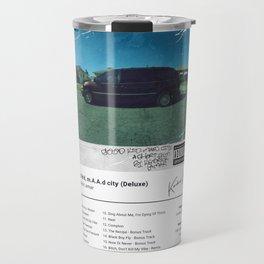 Kendrick Lamar - good kid, m.A.A.d city (Deluxe) - Album Art Travel Mug