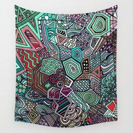 Jolly Geometric Wall Tapestry