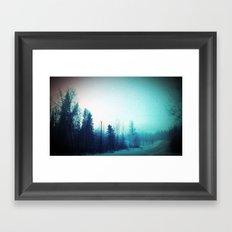 Ditched Framed Art Print