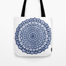 Sand Dollar-Navy Tote Bag