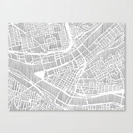 pittsburgh city print Canvas Print