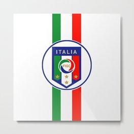 Italia Gli Azzurri Metal Print