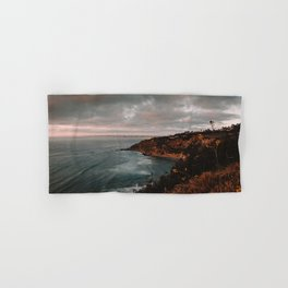 California Coastline Sunset II Hand & Bath Towel