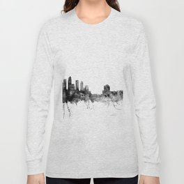 Tampa Florida Skyline Long Sleeve T-shirt