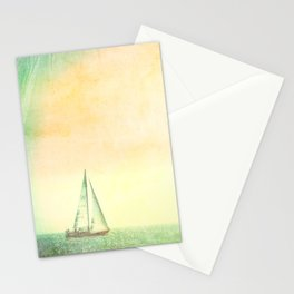 Smell the Sea and Feel the Sky Stationery Cards