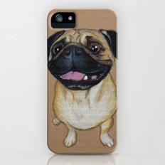 Pug Dog iPhone (5, 5s) Slim Case
