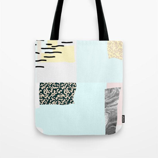 On the wall#4 Tote Bag