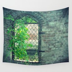 Window of Abandonment  Wall Tapestry