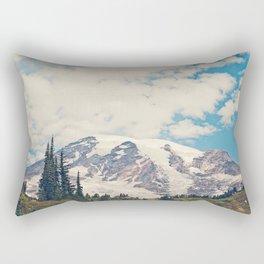 Mount Rainier Rectangular Pillow