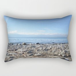 Rocky Beach Descent Rectangular Pillow