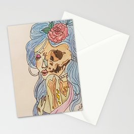 The love of midnight Stationery Cards