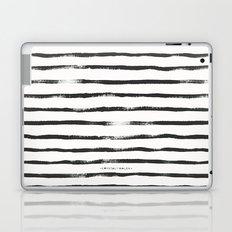 Thin Brush stripe Laptop & iPad Skin