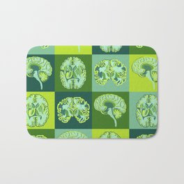 Brain Sections Bath Mat