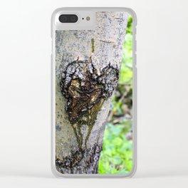 Bleeding Love Clear iPhone Case