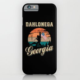 Dahlonega Georgia iPhone Case