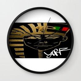 Nefertiti/ King Tut Wall Clock