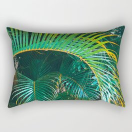 Pop Art Palms Rectangular Pillow