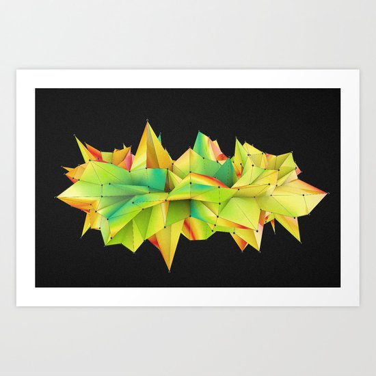 Mix Of Abstract Art Print
