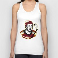 picard Tank Tops featuring Alexandre Picard by Kana Aiysoublood