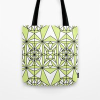 wiz khalifa Tote Bags featuring STAGGY G WIZ by Kingsley Ryan