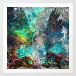 The Wings Art Print