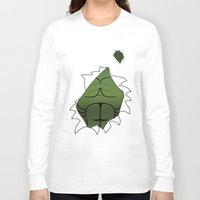 hulk Long Sleeve T-shirts featuring Hulk by iwantdesigns