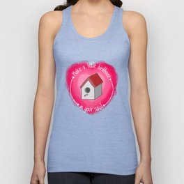Make A Little Birdhouse In Your Soul (With Lyric) Unisex Tank Top
