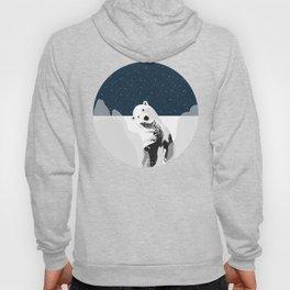 Unique Polar Bear Scene Hoody