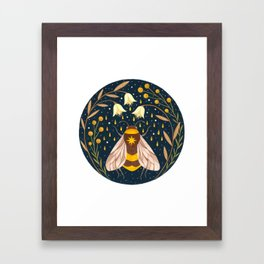 Harvester of gold Framed Art Print