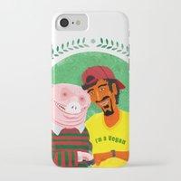 vegan iPhone & iPod Cases featuring Vegan by Bakal Evgeny